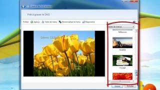 Créer un DVD ou un diaporama pour la TV avec Windows 7