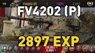 World of Tanks || FV4202 (P) - 2897 EXP...