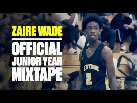 Zaire Wade Shows BIG Potential In Breakout Season - Official
