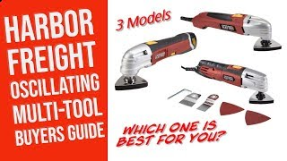 Harbor Freight Oscillating Multifunction Power Tool Review & Buyers Guide