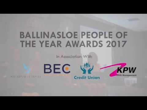 Ballinasloe People of the Year Awards 2017