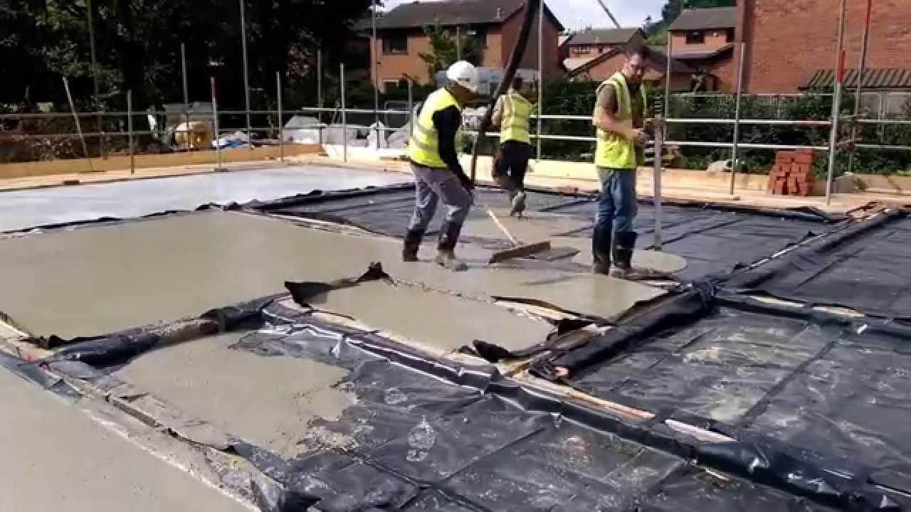 Agilia Self Levelling Concrete Screed Youtube