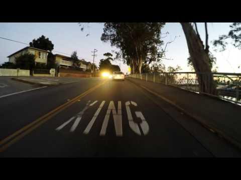 Cliff Drive - Santa Cruz, California, USA (Real Time)
