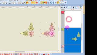 Master BERNINA Embroidery Software 8: Color Film: Ungrouping & Sequence By Color