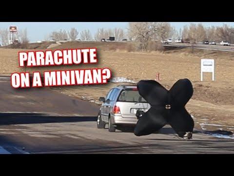 We Put a Parachute on a MINIVAN?!