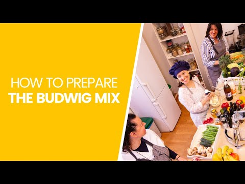 Budwig Center Kitchen - How Do You Prepare The Budwig Mix? Budwig Diet Recommendations