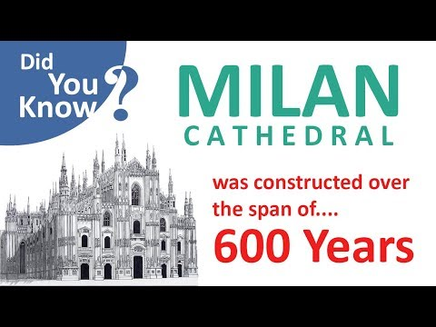 Milan Cathedral's Construction Mystery   Repost
