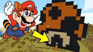 I Made a Mushroom House in Minecraft (Super Mario Bros. 3)