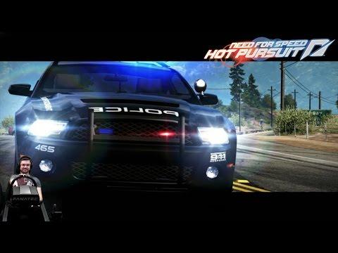 Крутые гаджеты копов - Need For Speed: Hot Pursuit на руле Fanatec CSL Elite