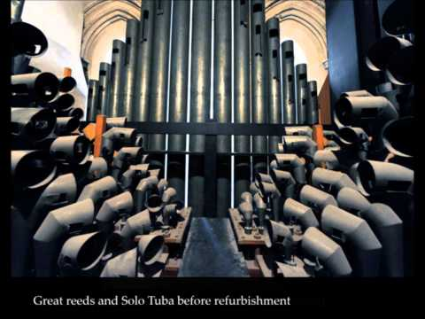 Percy Whitlock 'Fanfare': The Harrison and Harrison organ of the Temple Church, London.