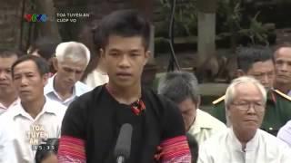 Tòa tuyên án: Cười rụng răng với thanh niên dân tộc MÈO