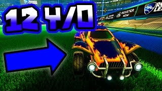 BEST 12 YEAR OLD PLAYER IN ROCKET LEAGUE!?