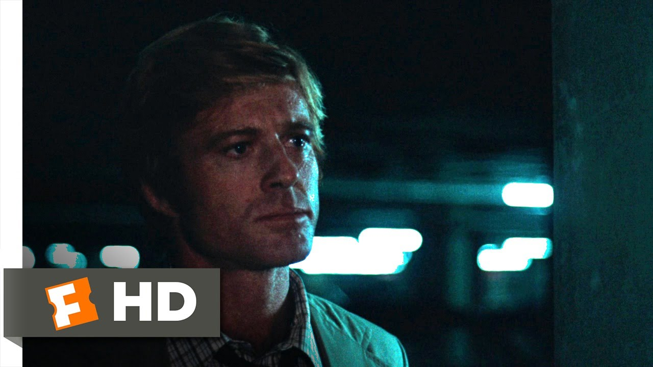 Follow the Money - All the President's Men (4/9) Movie CLIP (1976) HD