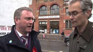 Steve Reed talks to Robert Gibson about the Upper Norwood library