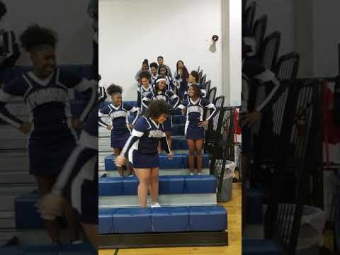 Plummer Middle School Cheerleaders