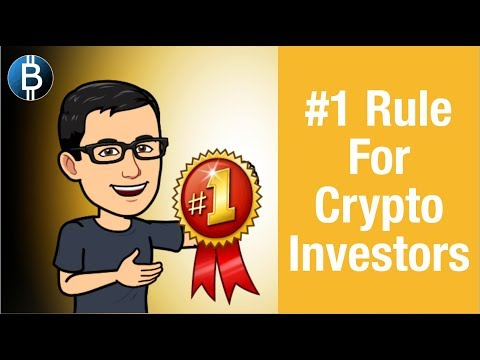 #1 MOST IMPORTANT Rule For Crypto Investors! (Crypto Investing Tips)