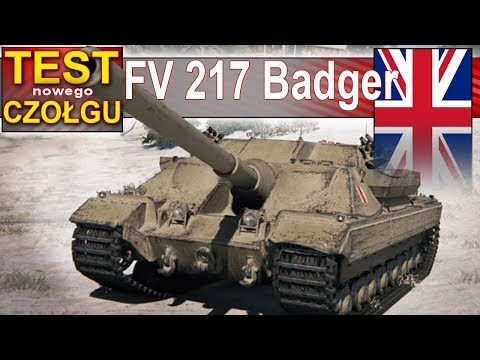 FV 217 Badger - pancerne monstrum na nowej mapie Klondike - World of Tanks thumbnail