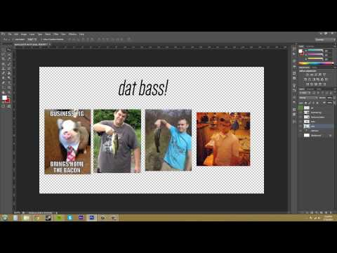 How to merge two layers in photoshop cs6