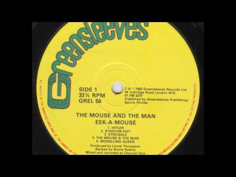 Eek-A-Mouse - The Mouse & The Man - LP Greensleeves Records 1983 - KILLER ROOTS 80'S DANCEHALL
