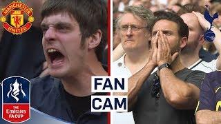 Fans React to Man Utd Comeback Against Spurs! | Fan Cam | Man Utd 2-1 Spurs | Emirates FA Cup 17/18