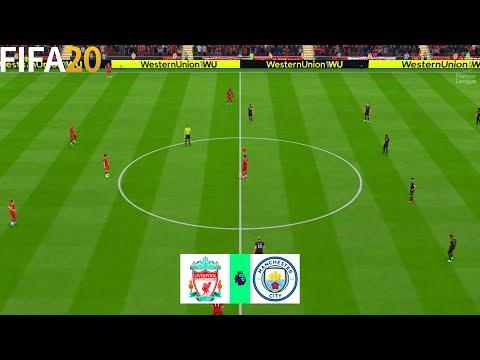 FIFA 20 | Liverpool vs Mancheste City - English Premier League 19/20 - Full Match & Gameplay