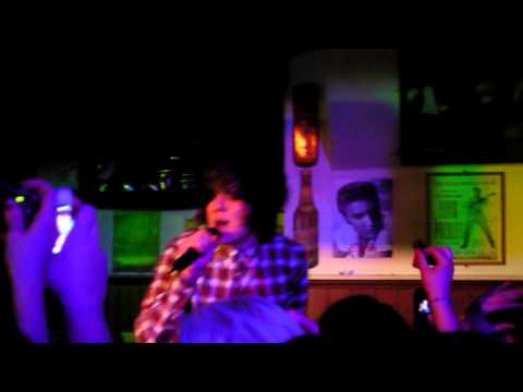 Frankie Cocozza The A Team Live at Club Campus Glasgow HD