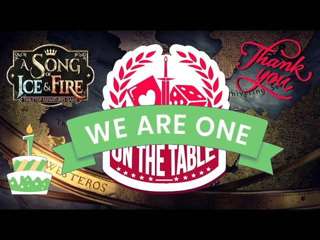 Celebrating 1 Year of ASOIAF TMG Content with On the Table Gaming!