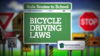Bicycle Laws -- PA Safe Routes Video #5