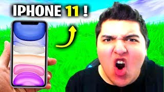 iPhone 11 If He Wins DEATHRUN.. (Fortnite)