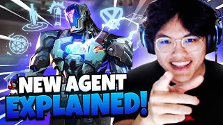 New Valorant Agent KAY/O EXPLAINED | Full Gameplay w/ 100T Dicey