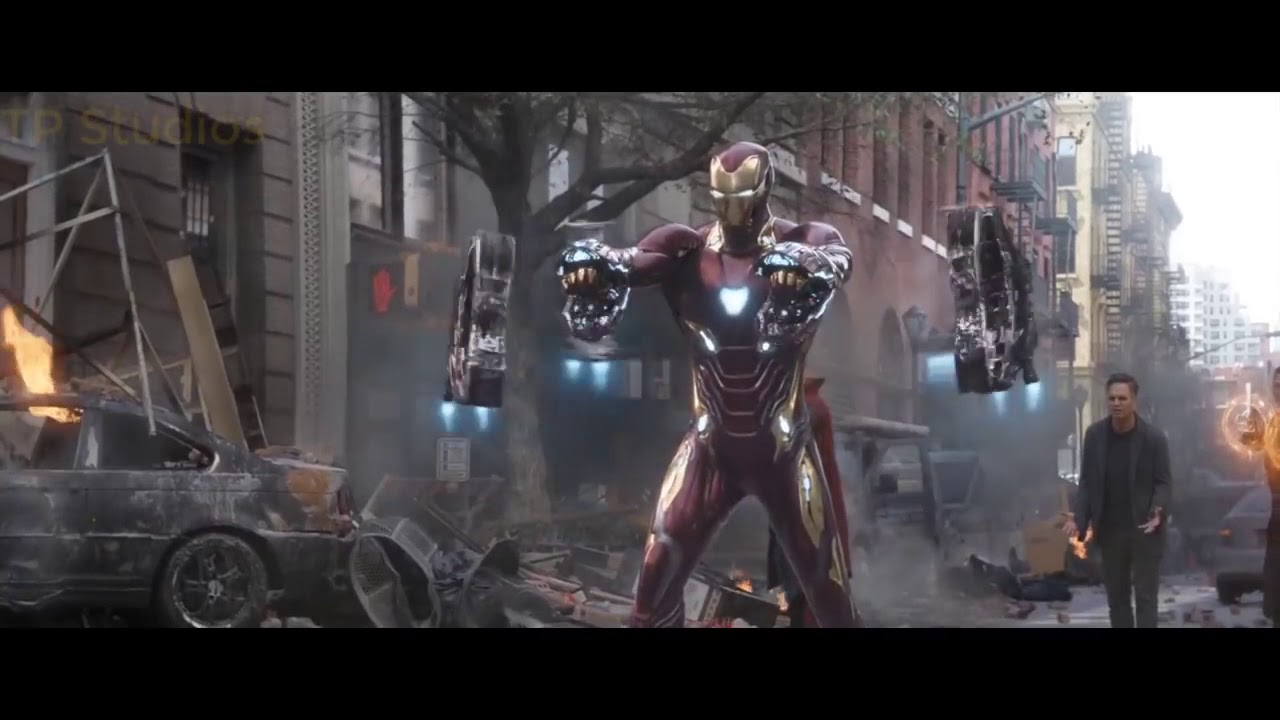 Avengers Infinitywar   Iron man and Spider man Suit up   Full HD