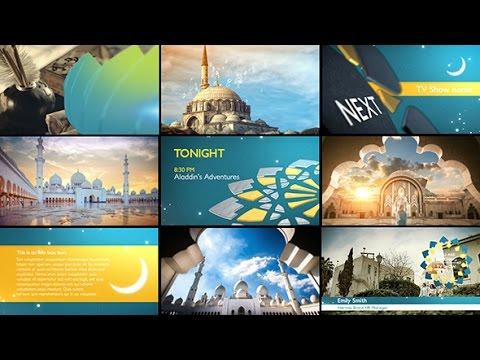 Style Media   Arabia TV   Ramadan Ident Package