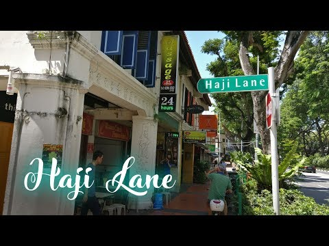 SINGAPORE | Haji Lane and Arab Street