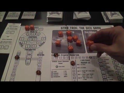 Star Trek the Dice Game (free pnp) Review