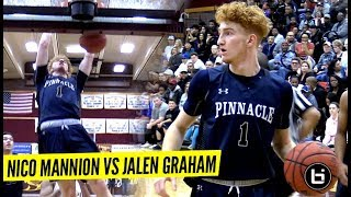 REDEMPTION!! Nico Mannion vs Jalen Graham BATTLE IT OUT In State Championship Rematch!!