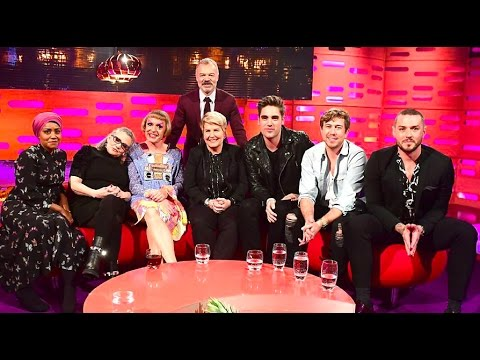 Graham Norton Show: Carrie Fisher, Grayson Perry, Sandi Toksvig and Nadiya Hussain.