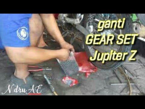 Paraaaah !!! Ganti gear set JUPITER Z # N dru AE