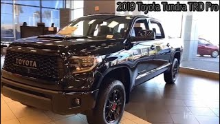 2019 Toyota Tundra TRD Pro Overview