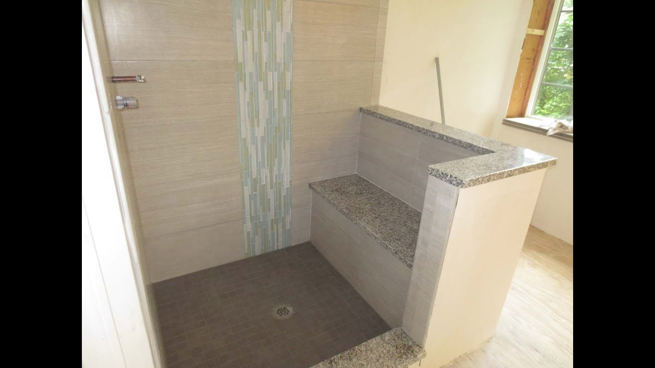How to install a vertical mosaic glass tile border with ...