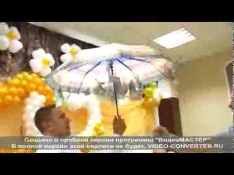 Зонт с деньгами на свадьбу как сделать своими руками видео