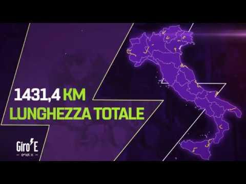 Giro-E 2020   The Route