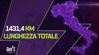 Giro-E 2020 | The Route