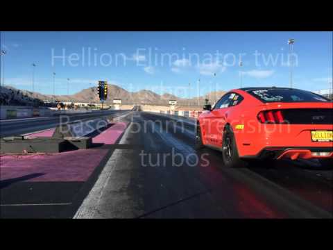 Hellion Turbo 2015 Mustang GT 8.90 pass!