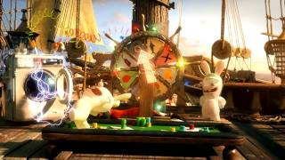 Raving Rabbids Travel in Time - Christopher Columbus trailer [Europe]