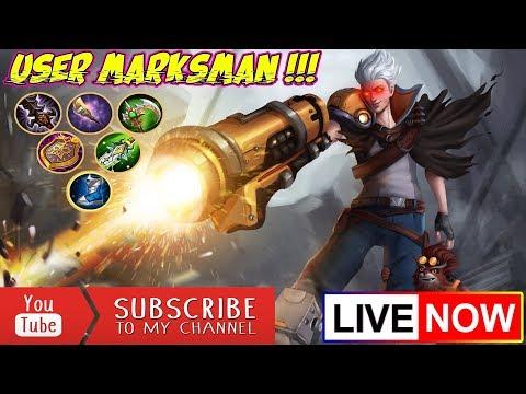 🔴[LIVE] USER MARKSMAN, OPEN MABAR BARENG SUBSCRIBER, ADA JASA JOKI GRATIS JUGA - MOBILE LEGENDS