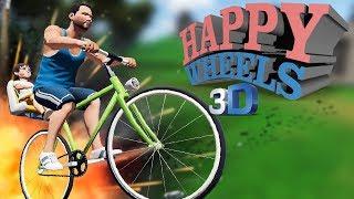 PLANINA AGONIJE!!! - 3D HAPPY WHEELS (Guts and Glory)