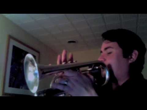 "J. S. Bach Partita: BWV 1006 ""Preludio"" performed on trumpet by Joey Pero"