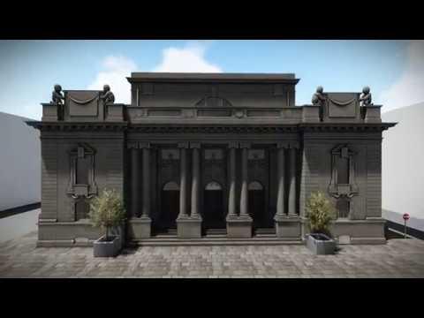 Luminous Group - Perth City Hall 3D Model