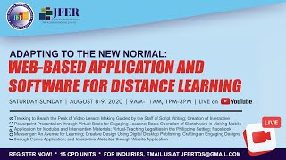 Part 1/4 | Adapting to the New Normal: Web-Based Application and Software for Distance Learning