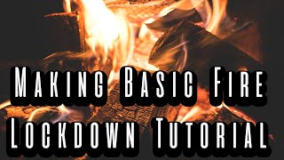 Basic Fire Making With Ferro Rod | Try At Home With The Kids